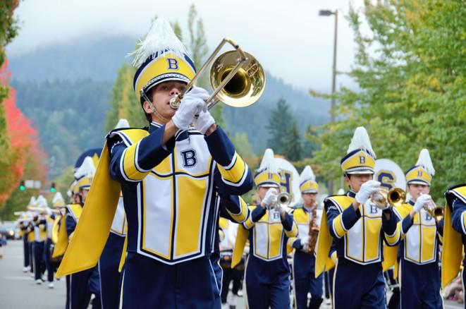 The New Bellevue High Band Website