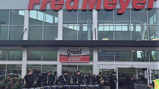 Drumline adds a beat to grand opening