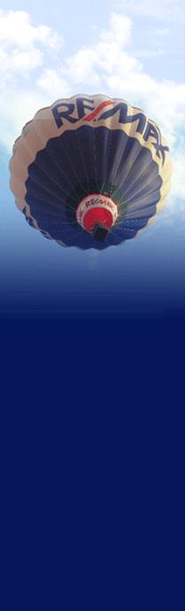 RE/MAX Balloon overhead