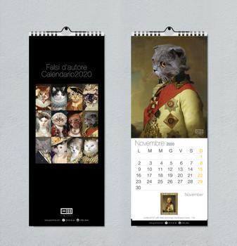 Calendario da muro Gatti