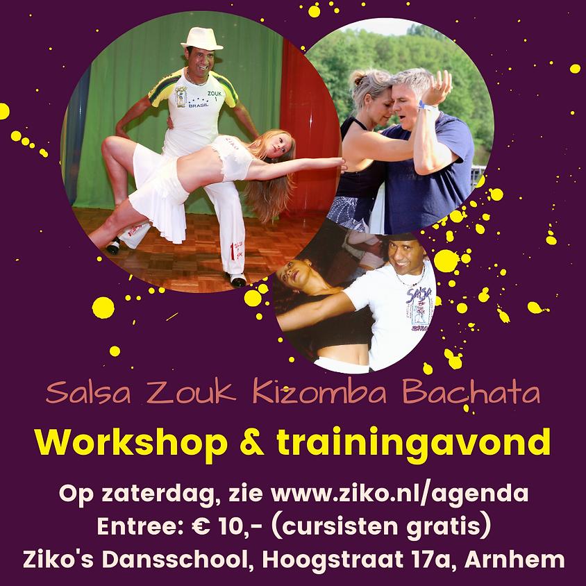 Workshop & Trainingsavond Bachata