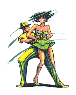 Ziko's Salsa Dansschool Arnhem Logo