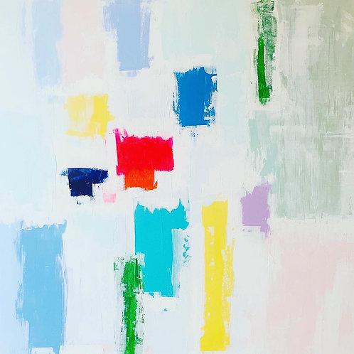 abstract artist hertford, abstract art hertfordshire, paula cherry