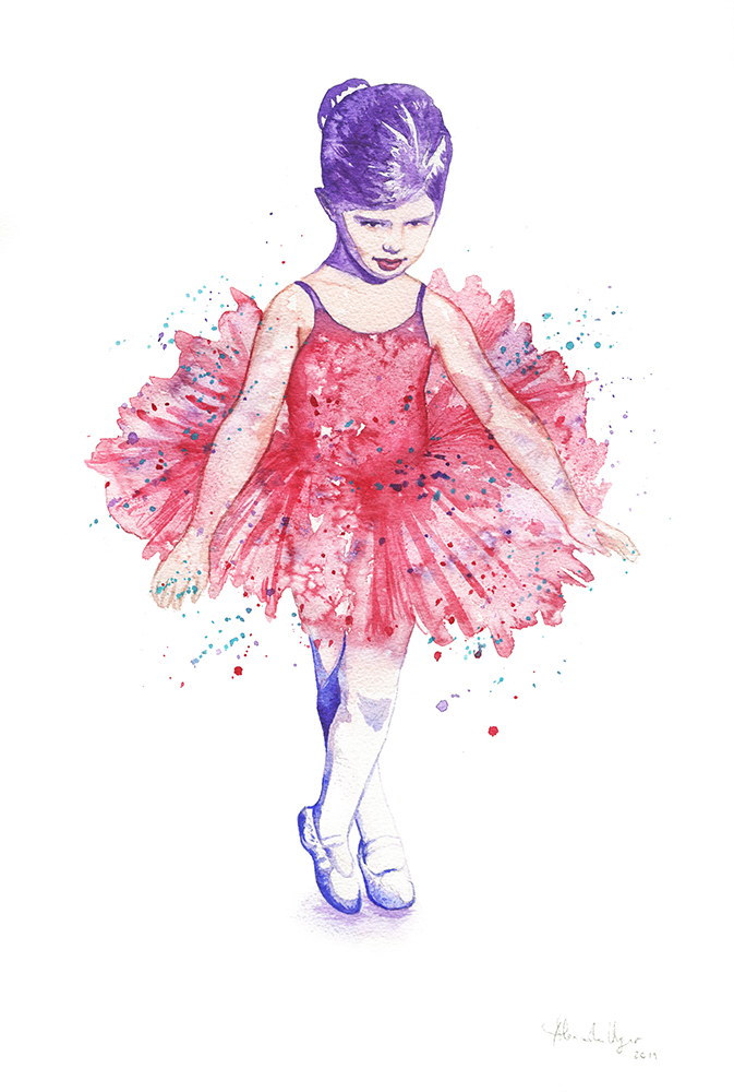 Child ballerina - low res