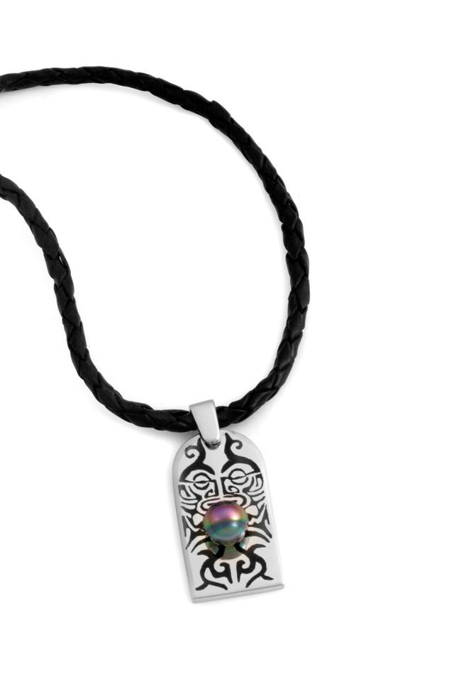 Taaroa - pendentif avec perle