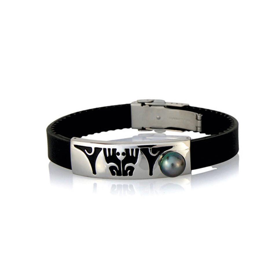 Taaroa - Bracelet avec perle