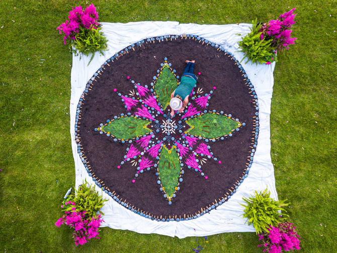 Midsummer Memory Mandalas Virtual Workshop