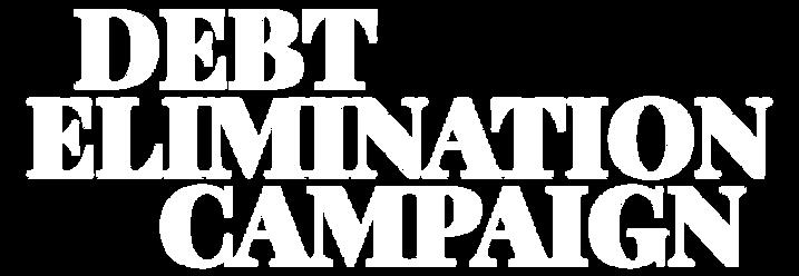 Debt Elimination Campaign logo W-01.png
