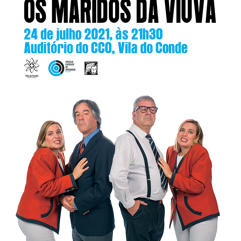 "TACCO apresenta ""Os Maridos da Viúva"""