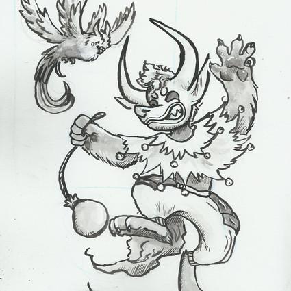 Keet Sketch