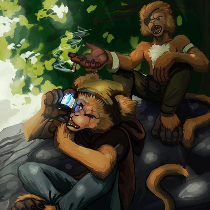 Monkey Thiefts