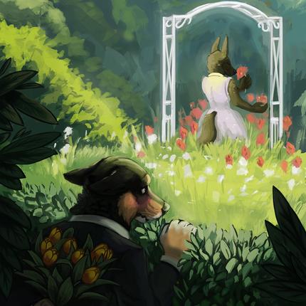 At the Garden