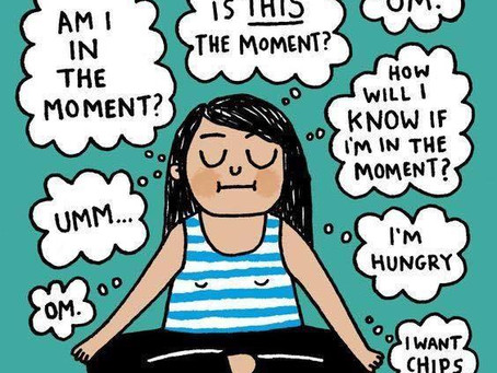 What holds us back from meditation?