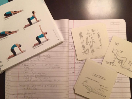 Contentment, Shame, & Teaching My First Yoga Class