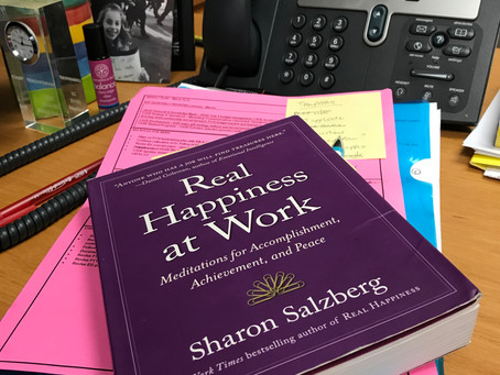 What I'm Reading: Real Happiness at Work
