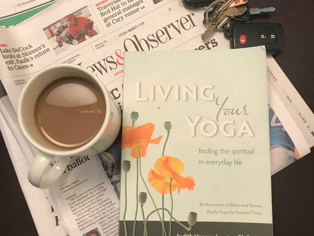 What I'm Reading: Living Your Yoga