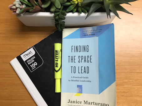 What I'm Reading: Finding the Space to Lead