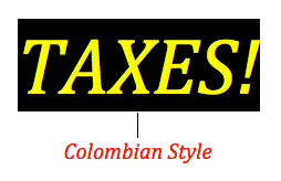 Do I have to file taxes in Colombia ?