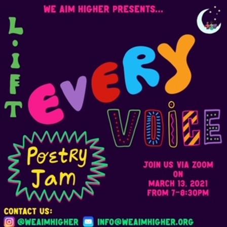 Lift Every Voice- Poetry Jam