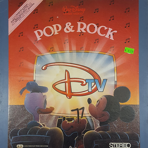 "Walt Disney DTV ""Pop & Rock"" Laserdisc - 1984"