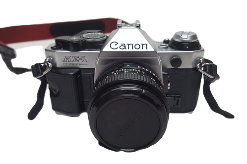 Canon AE-1 Program Camera & Accessories