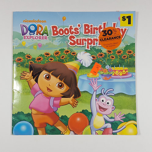 Dora the Explorer - Boot's Birthday Surprise