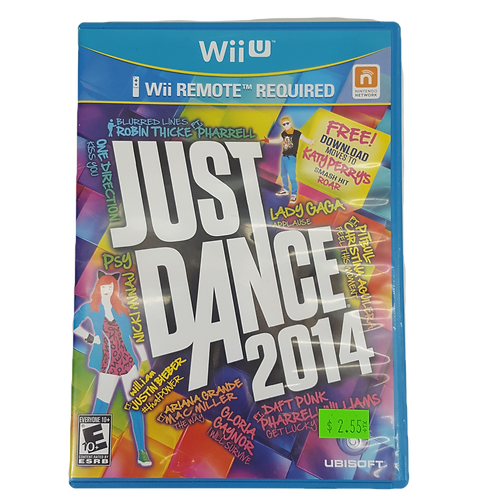 "2014 ""Just Dance"" For WiiU"