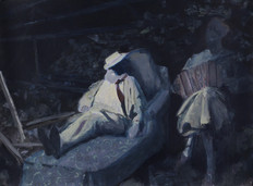 The artist at rest