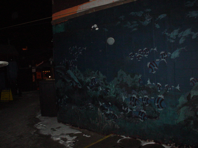The Hurricane, mural