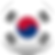 Bandeira de Coreia do Sul