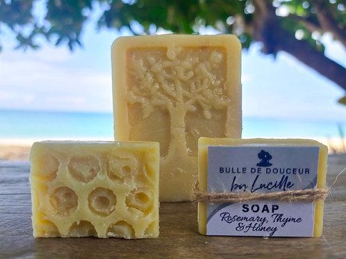 Thyme, rosemary & honey soap