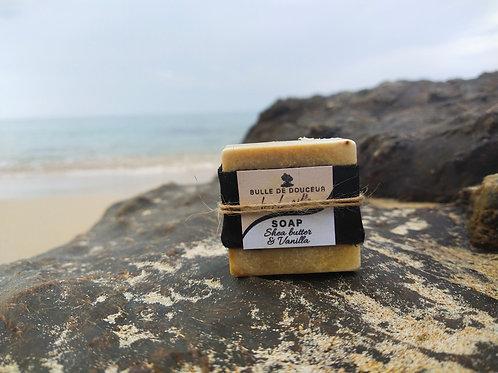 soap 50g Shea butter& Vanilla