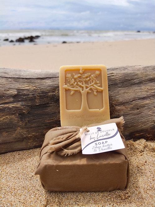 shea butter & vanilla soap 100g