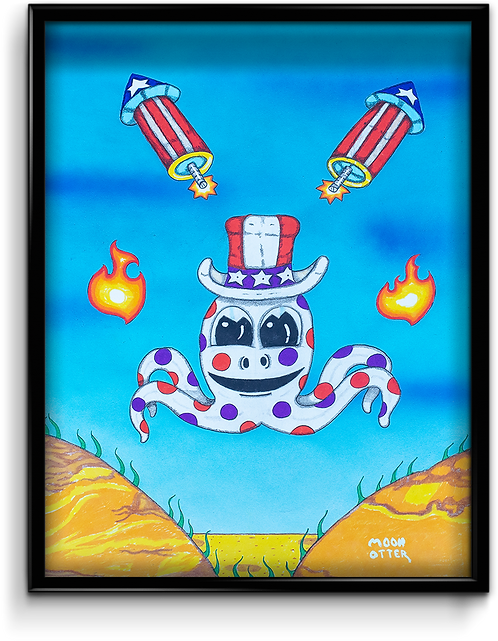Uncle Sam Octopus