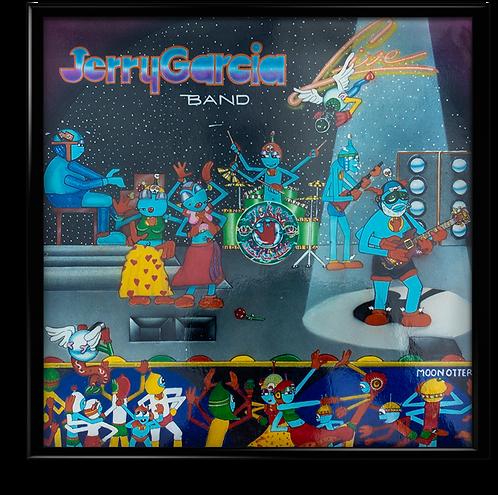 Jerry Garcia Band Live - Original Album Cover