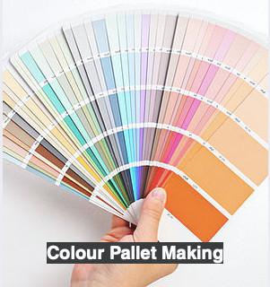 Colour Pallet Making