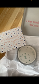 I love my 'No Waste' coaster. Even though it is seconds it is such good quality and I am very happy with it. The packaging is fantastic, with a lovely discount code for next time. A*