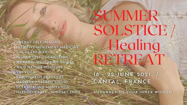 Summer Solstice Healing Retreat June 202