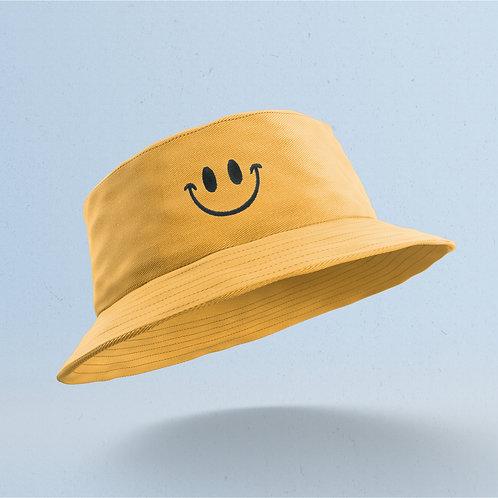 Yellow Smiley Bucket