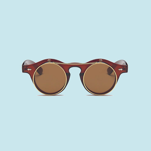 Vintage Flip-Up Sunglasses