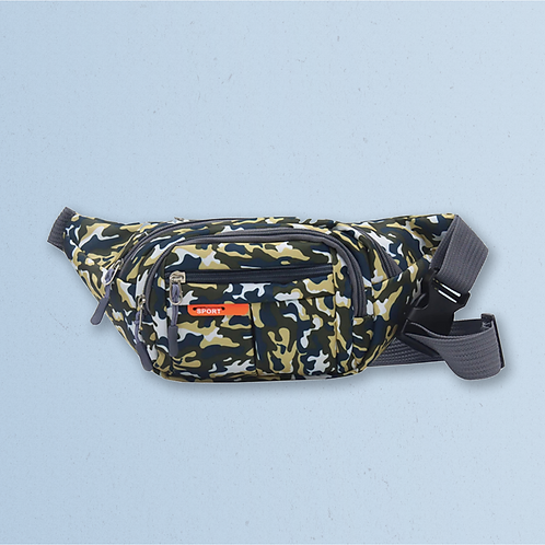 Green Camouflage Bumbag