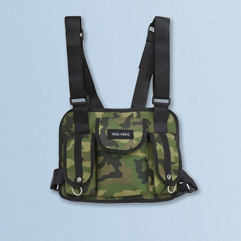 HGUL Chest Bag in Camouflage