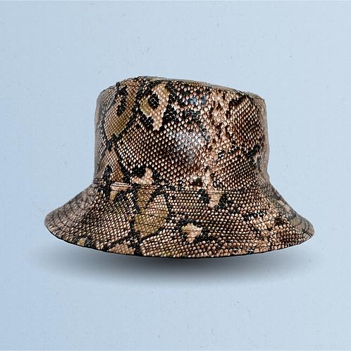 Snakeskin Reversible Bucket