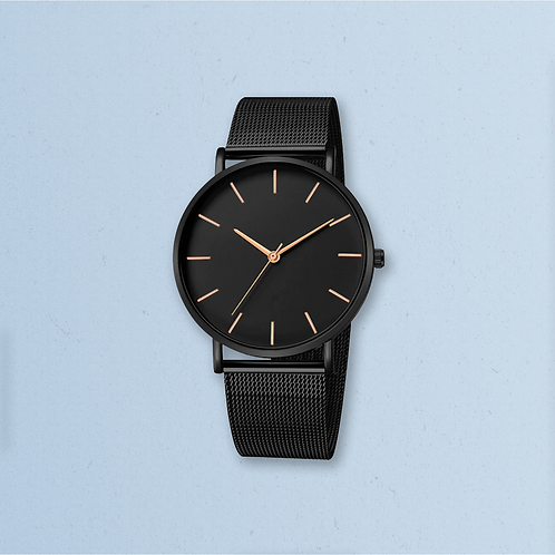 Luna Steel Watch