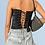 Thumbnail: Black Lace-Up Corset
