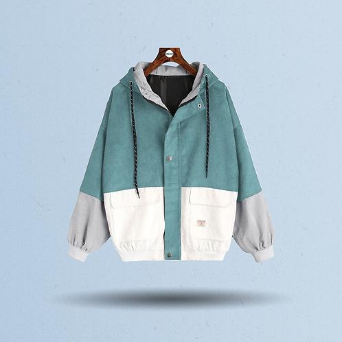 Women's Pastel Corduroy Jacket