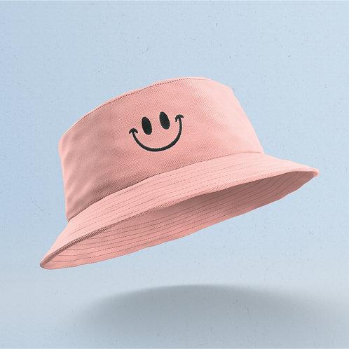 Pink Smiley Bucket