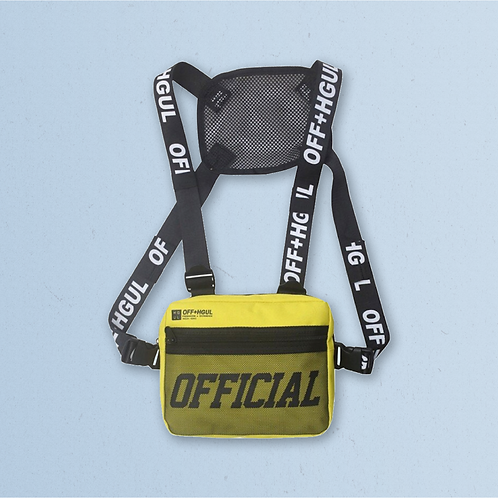 Yellow Official x HGUL Chest Bag