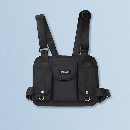 HGUL Chest Bag in Black
