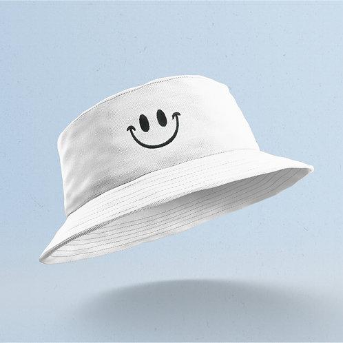 White Smiley Bucket